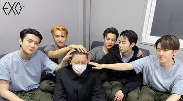 EXO. (Lysn via Soompi)
