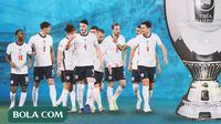 Piala Eropa - Euro 2020 Timnas Inggris Juara (Bola.com/Adreanus Titus)