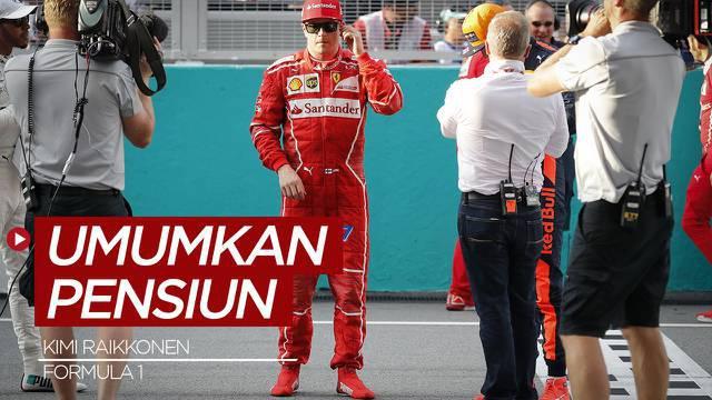 Berita Video Kimi Raikkonen Akui Tidak Ada Penyesalan Meninggalkan Formula 1