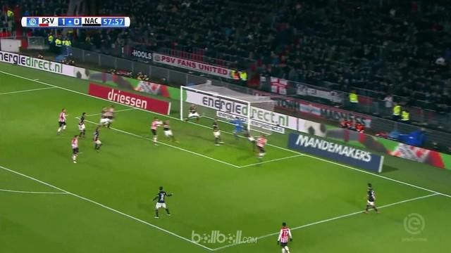 PSV Eindhoven masih unggul tujuh poin di puncak klasemen Liga Belanda setelah mereka menang telak 5-1 atas NAC Breda, Minggu (1/4)...
