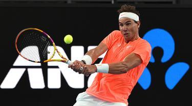FOTO: Batal Tampil di Partai Pertama ATP Cup, Rafael Nadal Berharap Bisa Pulih sebelum Australia Open Dimulai