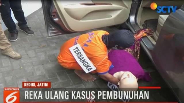 Pelaku membunuh korban menggunakan seutas tali tambang yang diduga telah dipersiapkan sebelumnya.