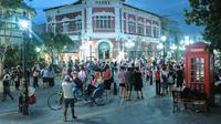 Kawasan Wisata Kota Lama Semarang. foto: dok. Kemenparekraf