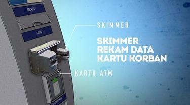 Kejahatan penggandaan kartu ATM (skimming) kembali terjadi di Indonesia. Sepertiga kejahatan skimming dunia, terjadi di Indonesia.