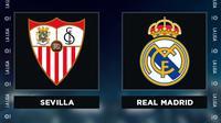 Liga Spanyol: Sevilla vs Real Madrid. (Bola.com/Dody Iryawan)