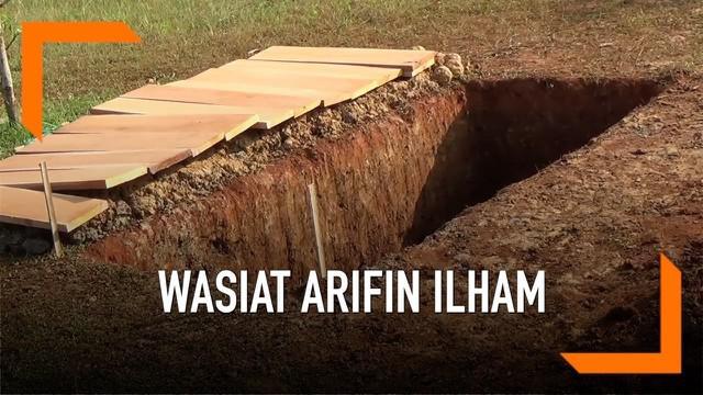 Sahabat Almarhum Arifin Ilham menceritakan wasiat yang Arifin berikan kepadanya. Bahwa manusia harus cerdas dan selalu dipantau oleh Allah SWT.