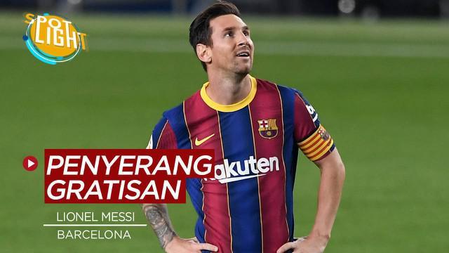 Berita video spotlight kali ini membahas tentang 4 Striker yang kontraknya habis akhir musim ini, Lionel Messi Bisa Gratis.