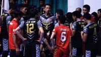 Para pemain Jakarta Garuda yang tampil di Proliga 2019. (Bola.com/Aditya Wany)