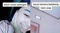 6 Tipe Cewek Pas Video Call ala Netizen Ini Benar Adanya (sumber: Twitter/soarta_cici)