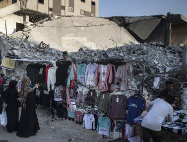 Gaza Berduka Menandai Hari Raya Idul Adha