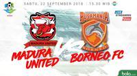 Liga 1 2018 Madura United Vs Pusamania Borneo FC (Bola.com/Adreanus Titus)