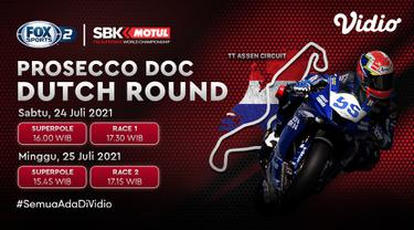 Jadwal dan Live Streaming World Superbike Motul Championship di Vidio Pekan Ini, 24-25 Juli 2021