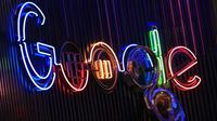 Logo Google. (Doc: Daily Express)