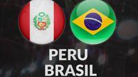 Kualifikasi Piala Dunia - Peru Vs Brasil (Bola.com/Adreanus Titus)