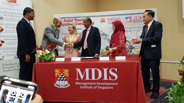 MDIS Meluncurkan Kursus dan Fasilitas Jewellery
