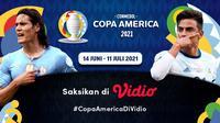 Live Streaming Copa America 2021 Pekan Ini Eksklusif di Vidio. (Sumber : dok. vidio.com)