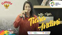 Garuda Kita Asian Games Tiara Andini 2 (Bola.com/Foto: Vascal Sapta Hadi /Grafis: Adreanus Titus)