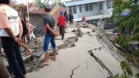 potret terkini Palu-Donggala usai gempa (foto: Twitter/@bagjasatiya)