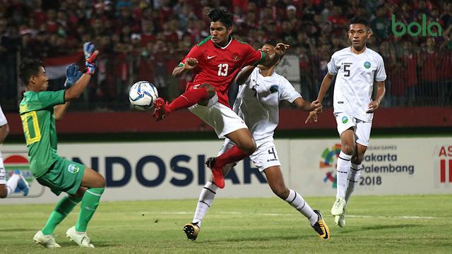 Timnas Indonesia U-16, Timor Leste, Piala AFF U-16 2018