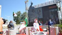 Peresmian monumen Soekarno di Alger, Aljazair. (Dok: Kemlu RI)