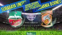 Surabaya United vs Pusamania Borneo FC (Bola.com/Samsul Hadi)