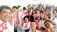 Relawan Solmet Jokowi siap dukung Jokowi di Pilpres 2019.