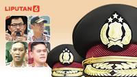 Banner Infografis Pencopotan 2 Kapolda dan 2 Kapolres. (Liputan6.com/Abdillah)