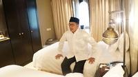 Menteri Agama Lukman Hakim Saifuddin mengaku kaget ada jemaah haji yang dapat kamar suite di Madinah. (www.haji.kemenag.go.id)