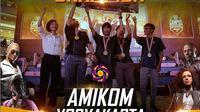 Tim Amikom Yogyakarta menjadi juara PUBG Mobile Campus Champhionship (FOTO / IG PUBG Mobile ID)