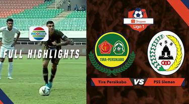 Berita Video Highlights Shopee Liga 1 2019, Tira Persikabo Kalahkan PSS Sleman 3-0
