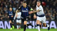 Inter Milan menghadapi Tottenham Hotspur di Stadion Wembley, pada laga kelima Grup B Liga Champions, Rabu (28/11/2018) malam waktu setempat. (AFP/Glyn Kirk)