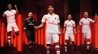AC Milan Umumkan Jersey Tandang Musim Depan (Dok AC Milan)