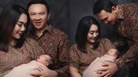 6 Pemotretan Perdana Ahok dan Puput Nastiti dengan baby Yosafat (Sumber: Instagram/fdphotography90)