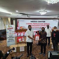 EMTEK Donasikan 10.000 Paket Sembako untuk Menteri Sosial RI | EMTEK