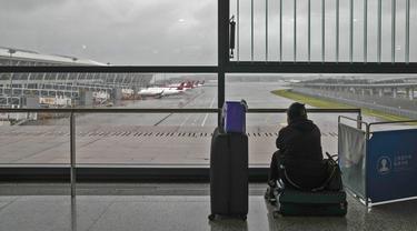 Bandara di Shanghai Ditutup Gara-Gara Topan In-Fa