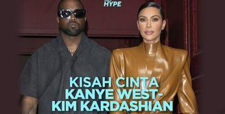 Kisah Cinta Kanye West – Kim Kardashian