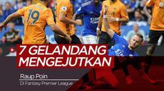 Berita video 7 gelandang yang bisa mengejutkan mendulang poin di Fantasy Premier League 2019-2020.