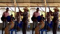 Noviana Baru (16), remaja warga Desa Babulu Selatan, Kecamatan Kobalima, Kabupaten Malaka, Nusa Tenggara Timur, dianiaya Kepala Desa Babulu Selatan, Paulus Lau, hingga nyaris tewas. (Liputan6.com/ Ola Keda)