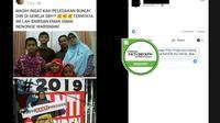 Cek Fakta - Pelaku Bom Surabaya (Foto: Facebook)