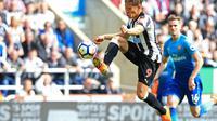 Newcastle Vs Arsenal. (Dok: Lindsey PARNABY / AFP)