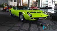 Lamborghini Miura menjadi salah satu peserta dalam kontes mobil klasik di Jakarta, Concours d'Elegance Indonesia. (Oto.com)