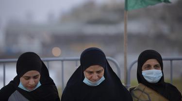 FOTO: Idul Fitri di Kota Campuran Yahudi - Arab