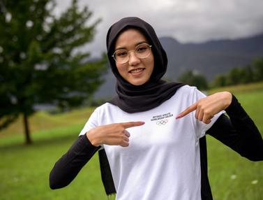 Pesona Atlet Cantik Balap Sepeda Afghanistan yang Siap Bersaing di Olimpiade Tokyo