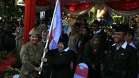 Parade juang 2019 di Surabaya, Jawa Timur (Foto: Liputan6.com/Dian Kurniawan)
