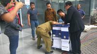 Berkas nota pembelaan Jessica Kumala Wongso (Liputan6.com/Nafiysul Qodar)
