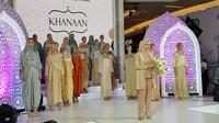 Desainer modest wear Khanaan di Ramadhan Fashion Festival 2018 (Liputan6.com/Pool/Ramadhan Fashion Festival)