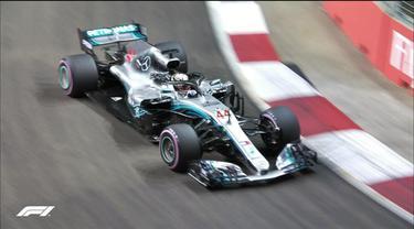 Lewis Hamilton, F1 GP Singapura