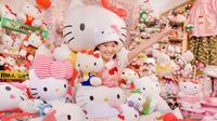 Koleksi Hello Kitty akan terus bertambah melebihi 4.000 buah. Gambar dari : guinesswordrecord