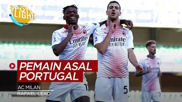 Berita video spotlight tentang empat pemain Portugal yang pernah membela AC Milan.