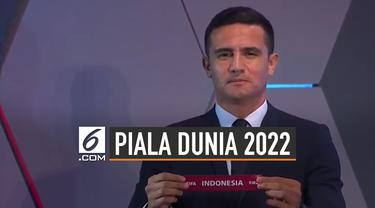 Indonesia Bergabung di Grup G, Ini Fakta Kualifikasi Piala Dunia 2022